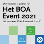 Dag Van De BOA 2021